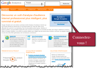 Miniature de Page Accueil Google Analytics